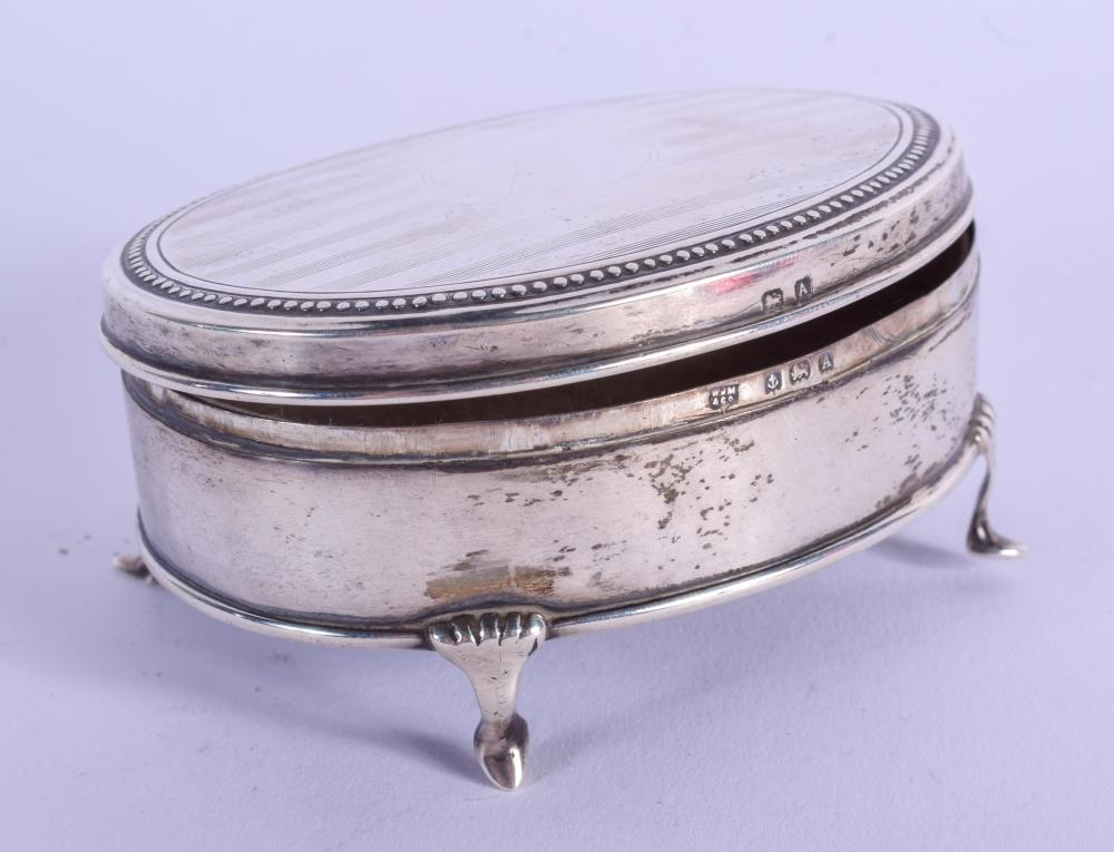 Sold Price A 1920s Silver Box Birmingham 1925 94 Grams 8 Cm X 6 Cm December 2 0120 9 30 Am Gmt