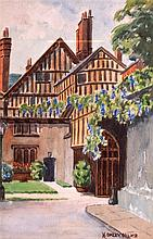 ENGLISH SCHOOL (British), Framed watercolour,