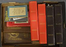 A COLLECTION OF STAMP ALBUMS of various dates and ages, including a near fu