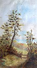 ENGLISH SCHOOL (Early 20th Century), Framed Watercolour, Coastal Scenery. 1