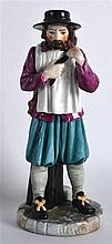 A ROYAL WORCESTER FIGURE OF LONDON CRIES 'YE WATER CARRIER' modelled by Jam