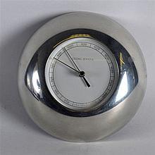 A GEORG JENSEN BAROMETER. 5.5ins diameter.