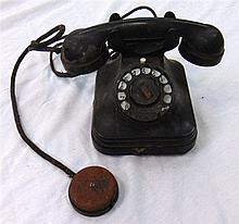 A VINTAGE TELEPHONE.
