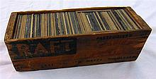 A BOXED QUANTITY OF MAGIC LANTERN SLIDES, of various subjects. (100)