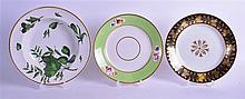EARLY 19TH CENTURY DERBY FINE PLATE OF EARL FERERRS TYPE, together with five other plates. (6)