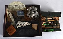 A BOX OF VARIOUS COLLECTABLES including a a George