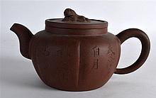 A LATE 19TH CENTURY/20TH CENTURY CHINESE YIXING PO