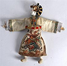 A VERY RARE LATE 19TH CENTURY CHINESE SILKWORK DOL