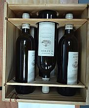 SIX BOTTLES OF CHATEAU AURIS 1999 within its original crate. (6)