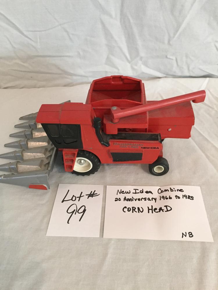 New Idea Combine Corn Head 20th Anniversary 1966 - 1985