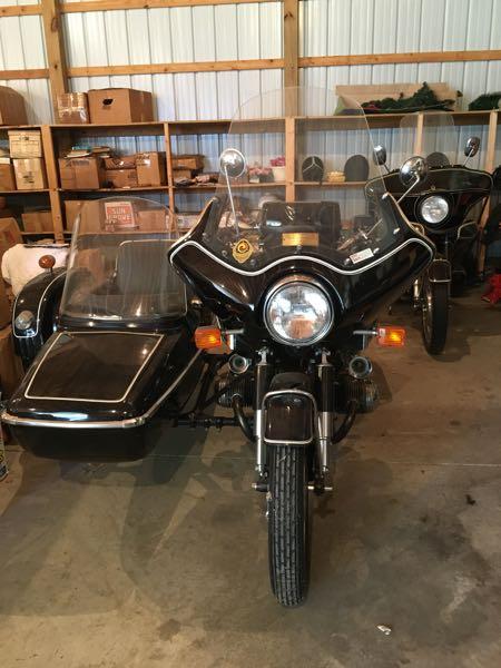 1968 BMW R 60 Motorcycle w/side car