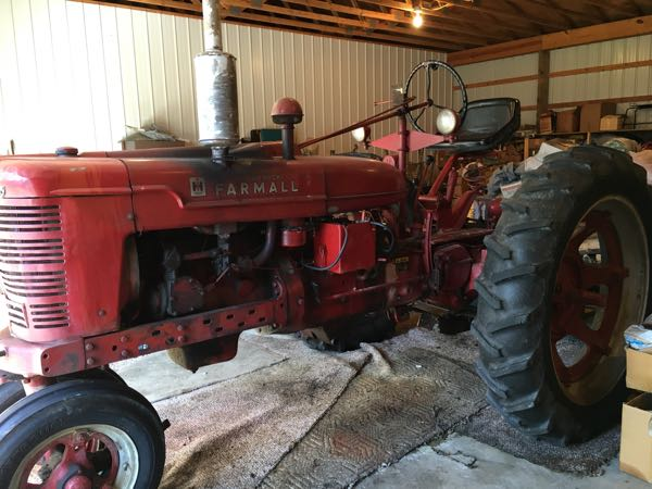 1941 Farmall H Narrow Front 3pt