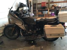 1983 BMW R 100 motorcycle