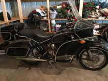 1967 BMW R 69S Motorcycle