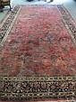 A Semi-antique Sarouk Rug,
