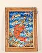 Madsen Mompremier, b. 1952, Haiti, The Sirene's Song, or Erzulie, Goddess of Love, an acrylic on canvas,