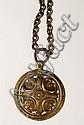 Bronze Kaleva Koru Viking-Style Pendant,