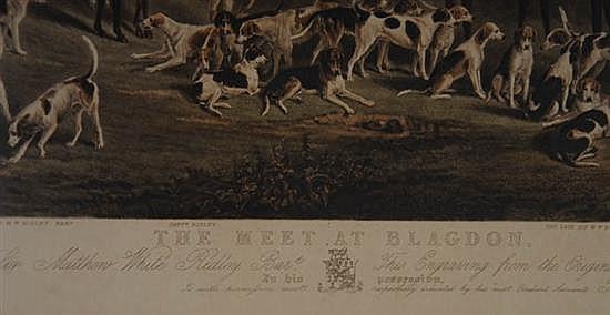 The meet at blagdon