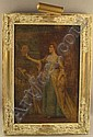 1 A C. Y. Turner Painting, an oil on canvas of a, Charles Yardley Turner, Click for value