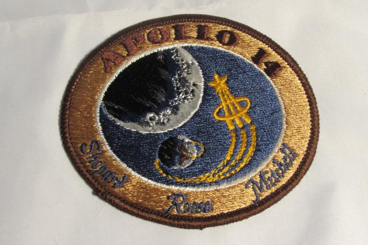 NASA Apollo 14 Mission Patch. Shepard, Roosa, Mitchell