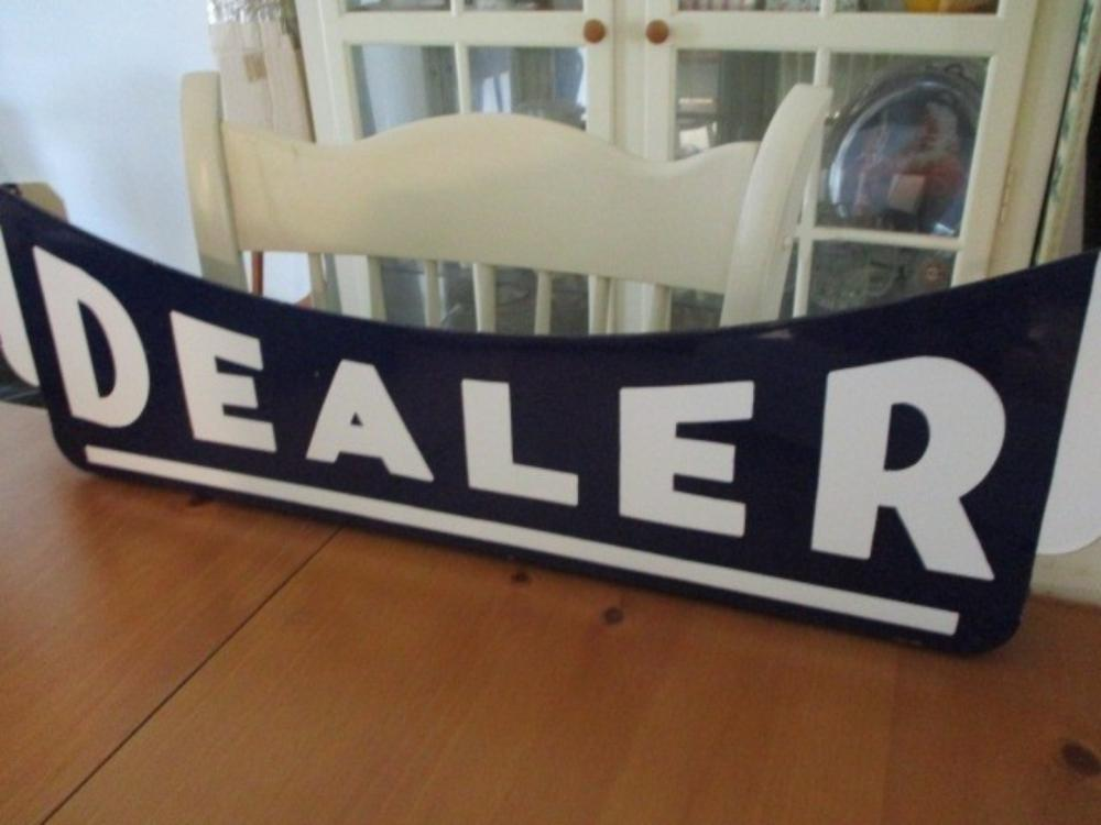 """Dealer"" Sign 1930s Standard Oil"