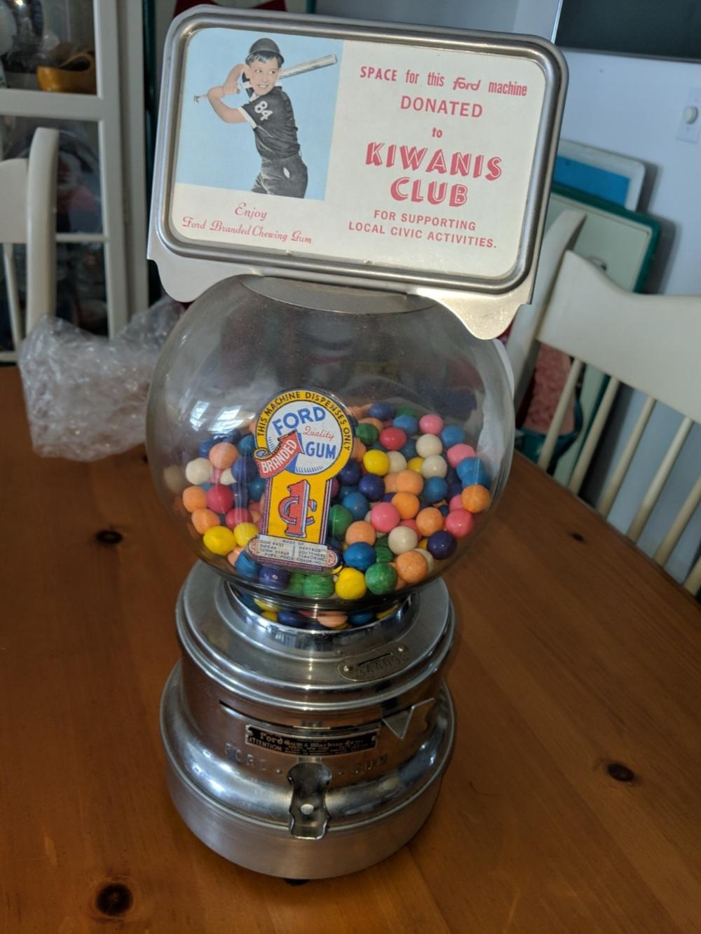Ford Gumball Machine