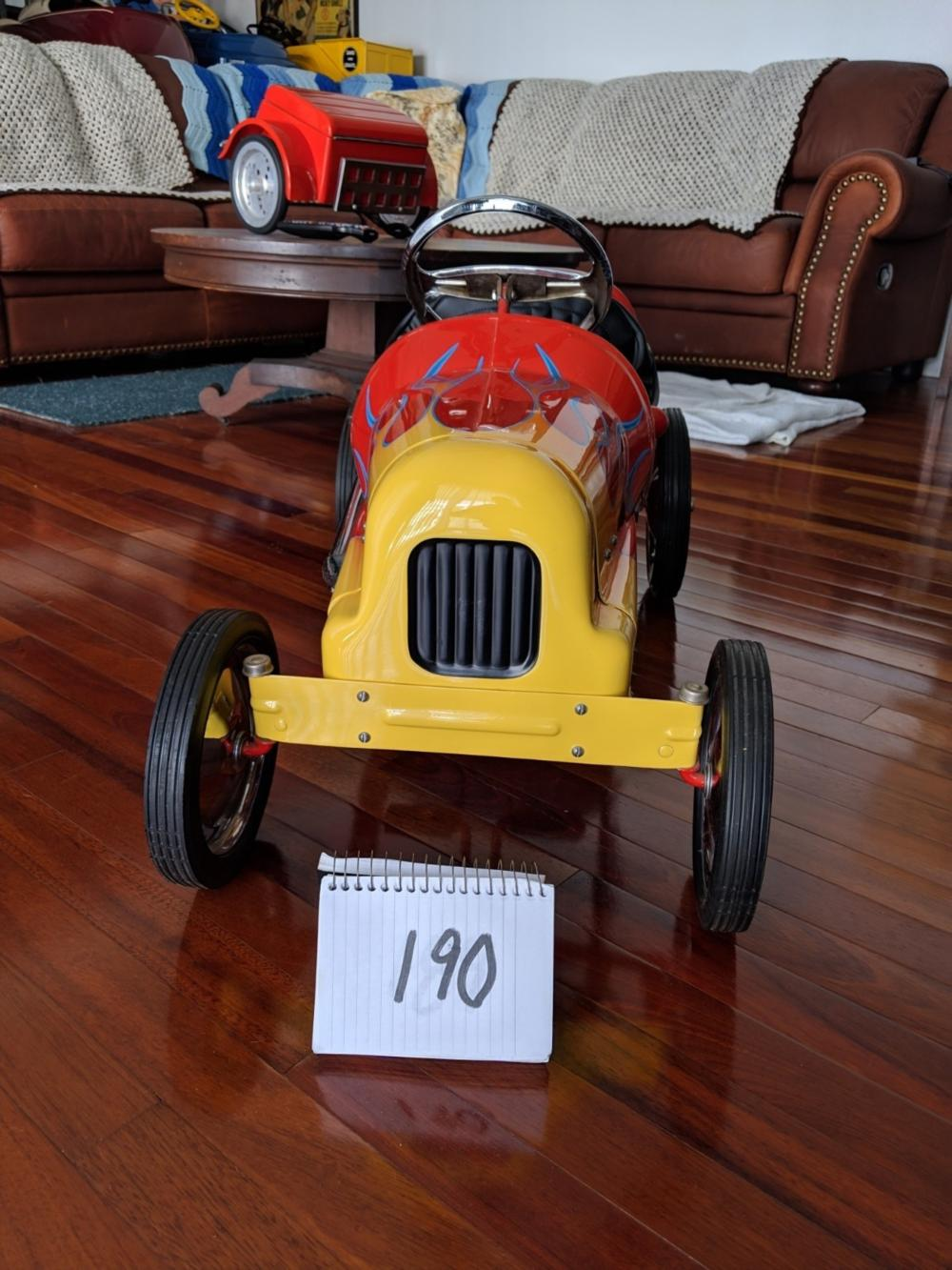 1947 BMC Racer Restored Pedal Car