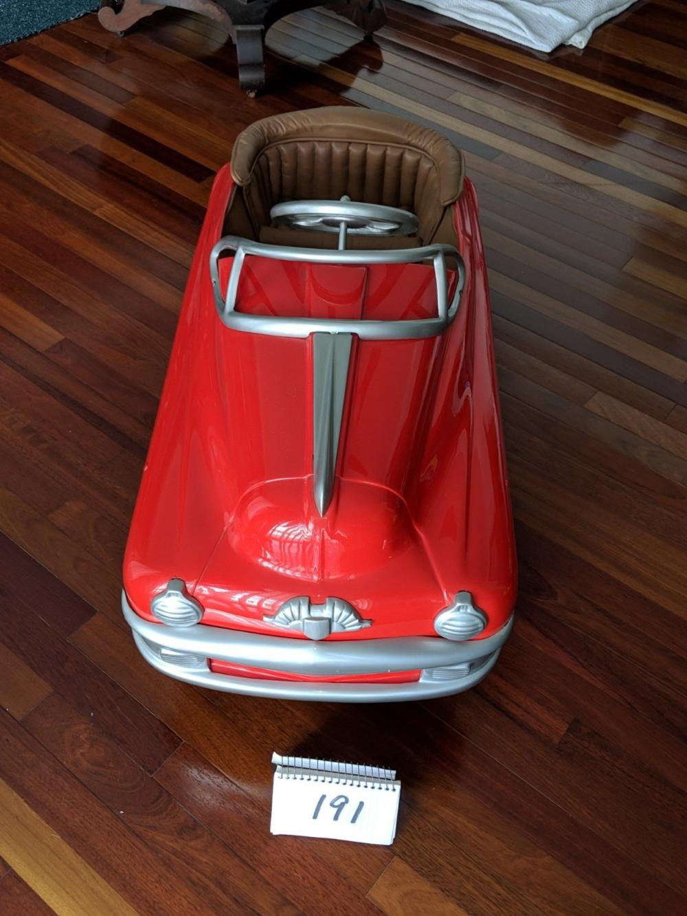 1949 Torpedo Pedal Car Restored