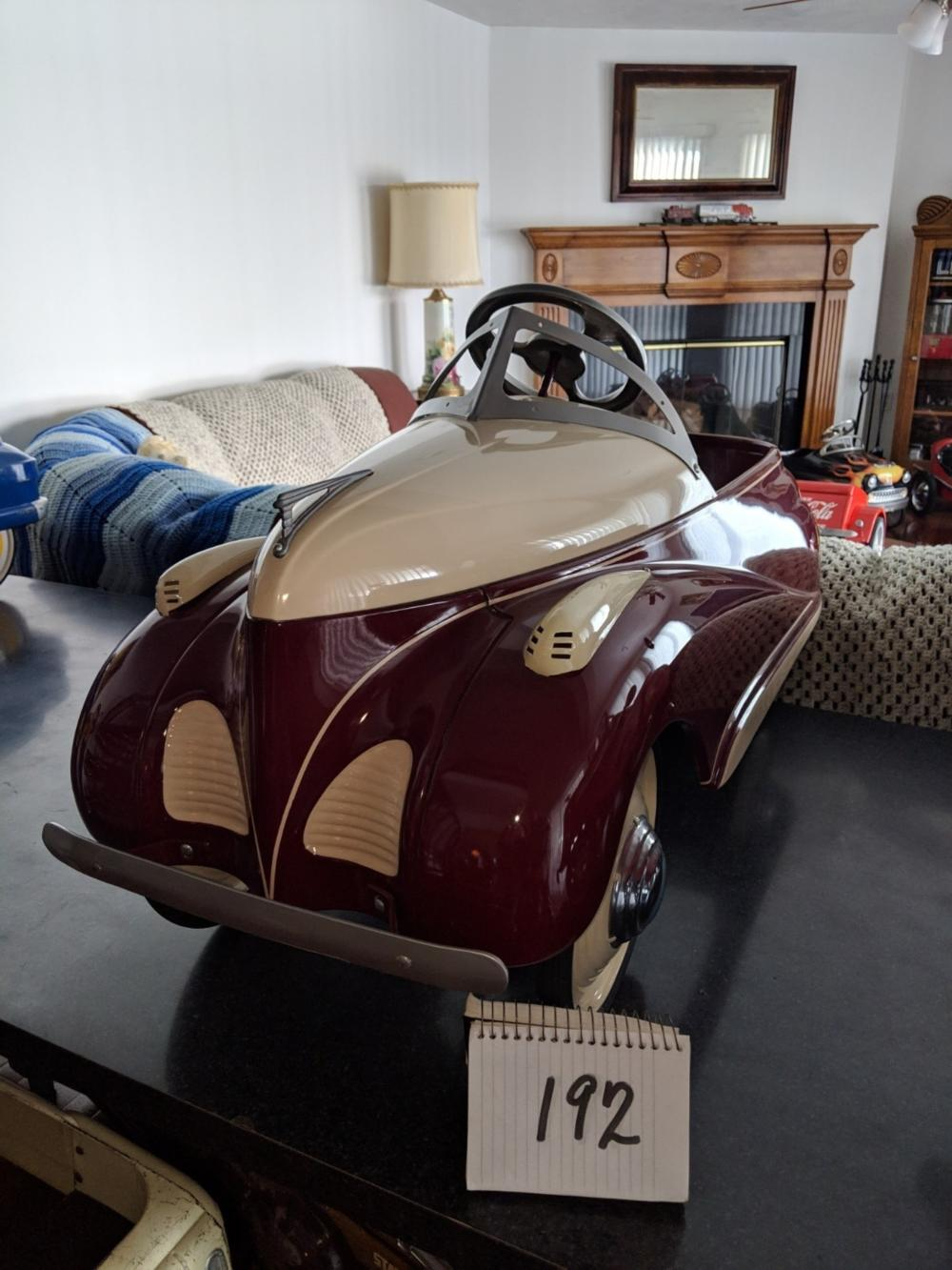 1939 Lincoln Zephry Pedal Car Restored