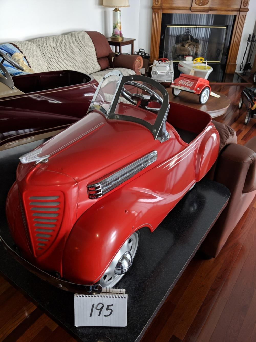 1938 M10 Dodge Pedal Car Steelcraft Possible Early Restoration