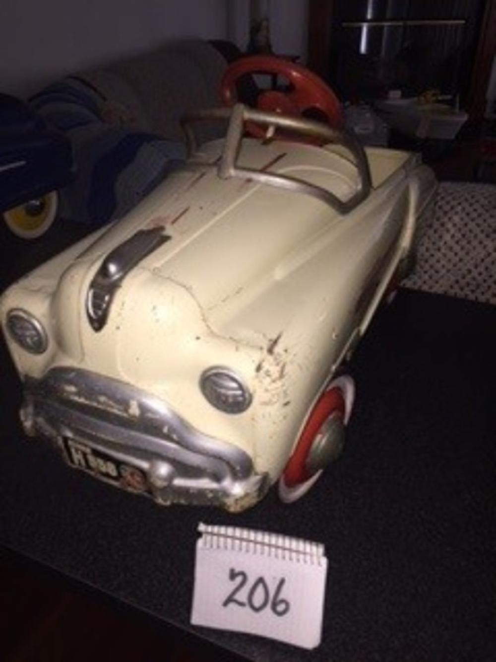 1958 Sad Face General Original Condition Pedal Car