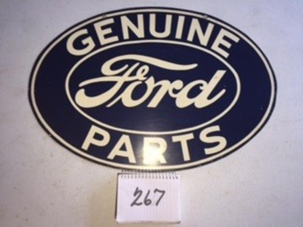 "Genuine Ford Parts Sign 24""x16"" Double Sided"