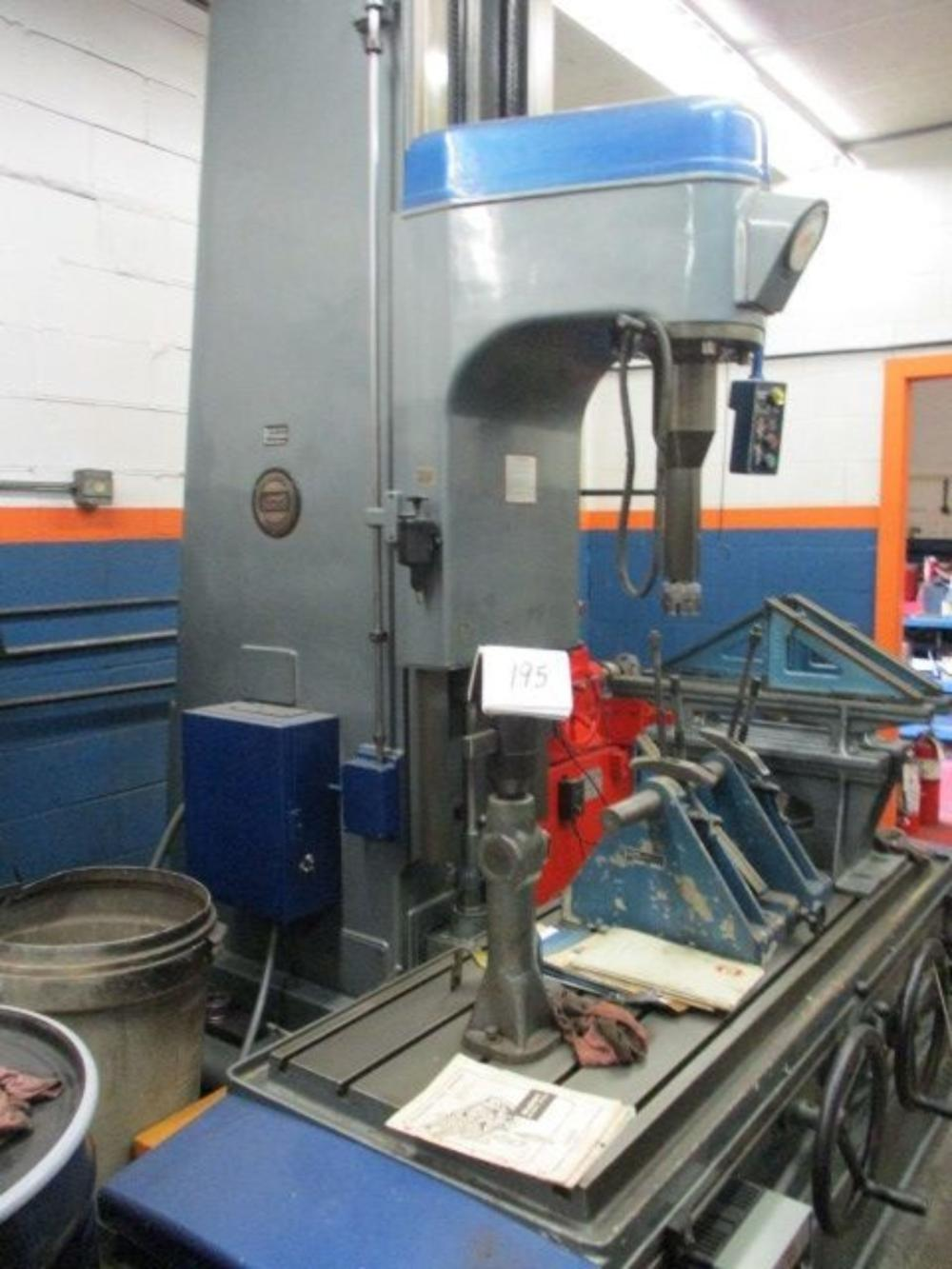 Berco AC1400 Boring and Resurfacer Mill w/ 3 Boring Heads