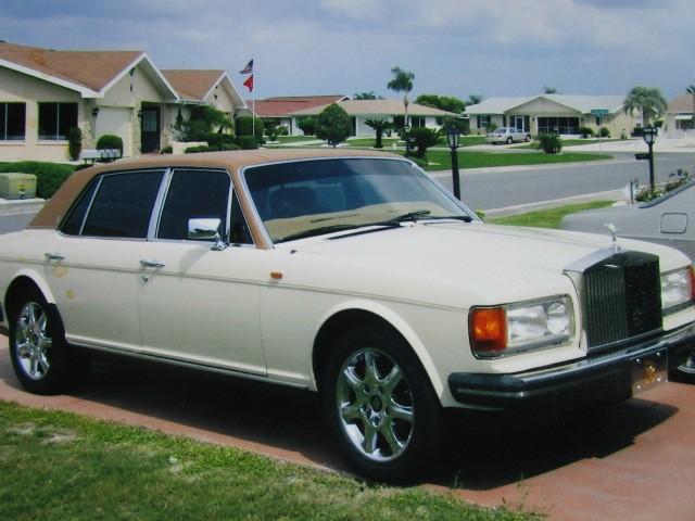 1981 Rolls Royce Silver Spur LWB Tan 53466 SCAZN42AXBCX02423