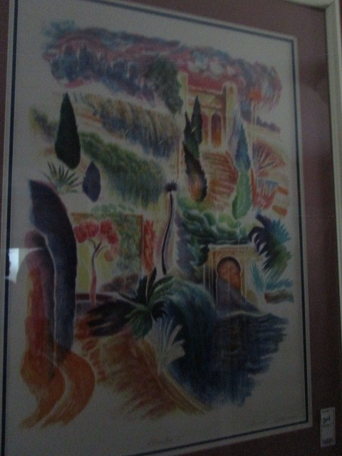 """Peter Eastham """"Alahambra I"""" 148 of 200 Lithograph 32""""x22"""" Pencil Signed"""