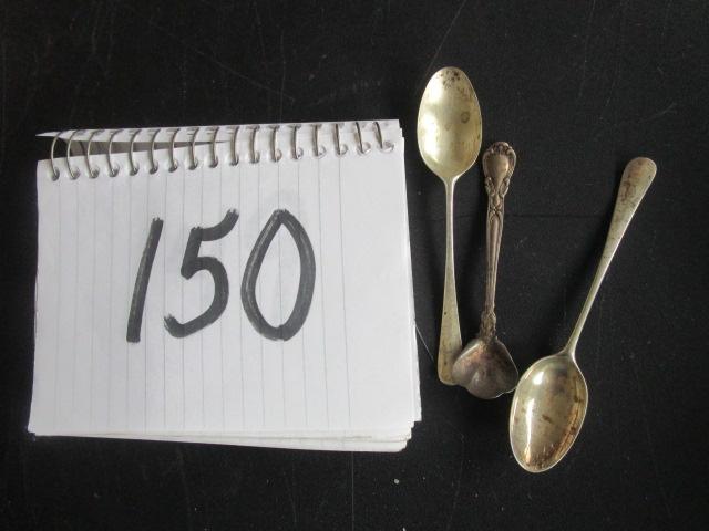 Small Spoons (3) Stieff, IG 1.36oz
