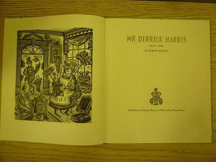 MR DERRICK HARRIS, the children's book