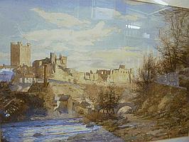 JOHN DOBBY WALKER (1863-1925), Richmond Castle,