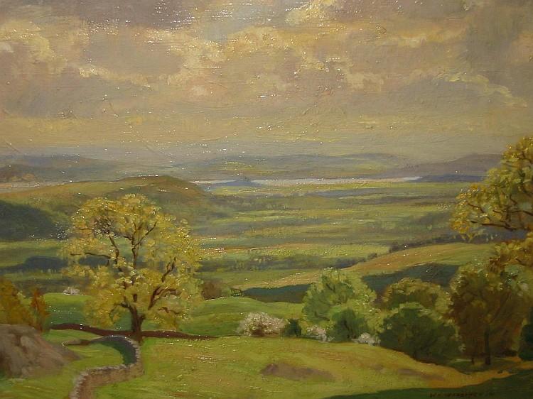 WILLIAM HARTLEY WADDINGTON (1883-1961), Summer in