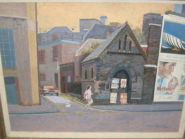 JOHN HESELTINE (fl 1940's - ), Northern Street