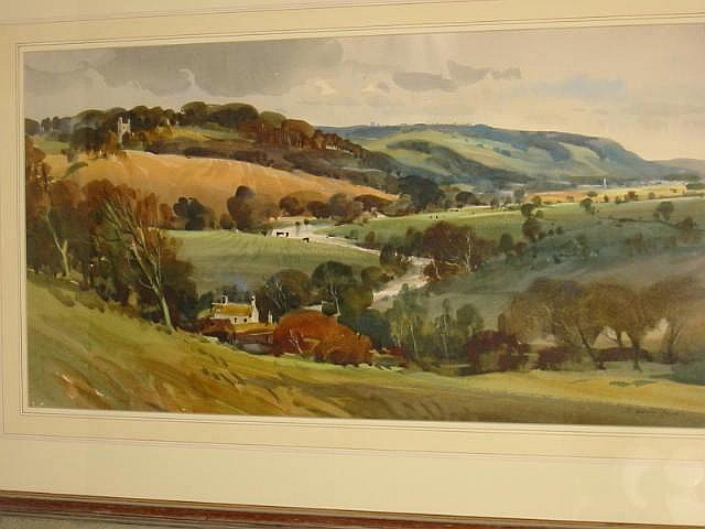 JOHN BARRIE HASTE (20th Century), View of Harewood