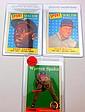 1958 TOPPS (3 STARS) WARREN SPAHN, STAN MUSIALAS, AND HANK AARON ALL STAR