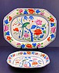 Early Staffordshire Platter and Bowl