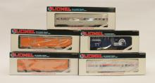 Lot Of (5) Lionel Cars