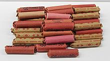 38 ROLLS OF WHEAT PENNIES
