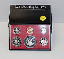 (5) 1979 US PROOF SETS