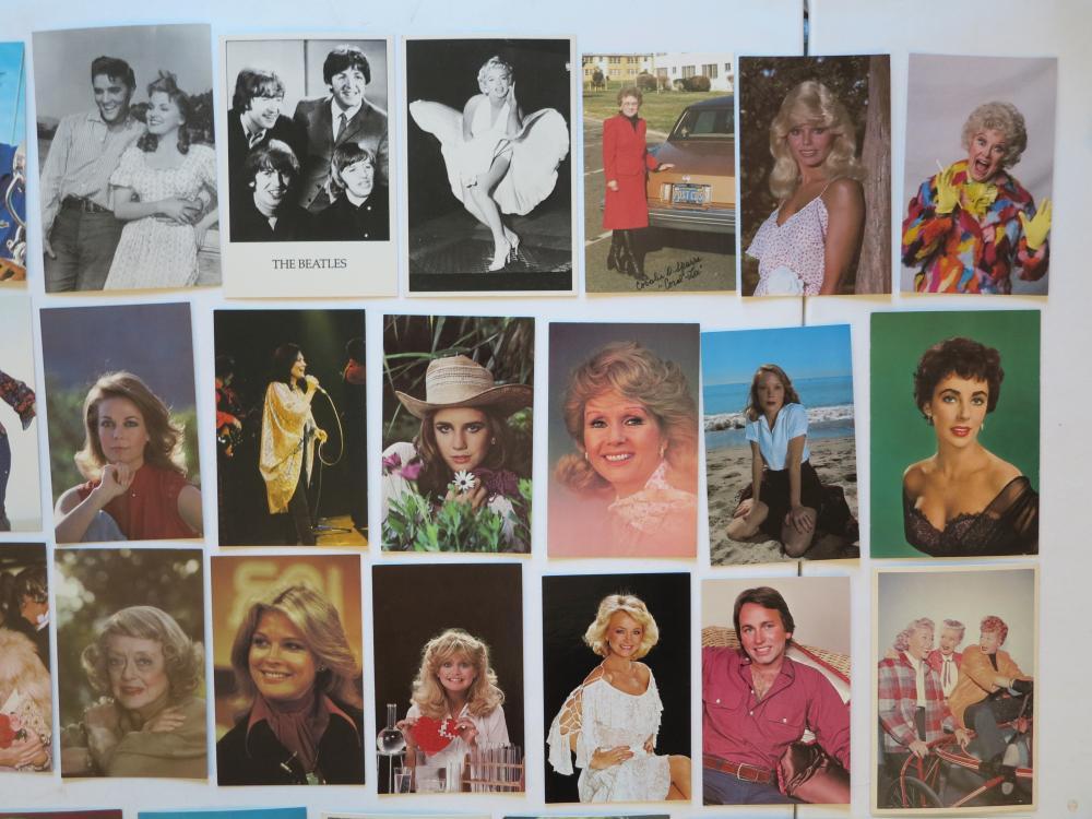 60+-) Celebrity Movie & Music Star Postcards  Marilyn Monroe