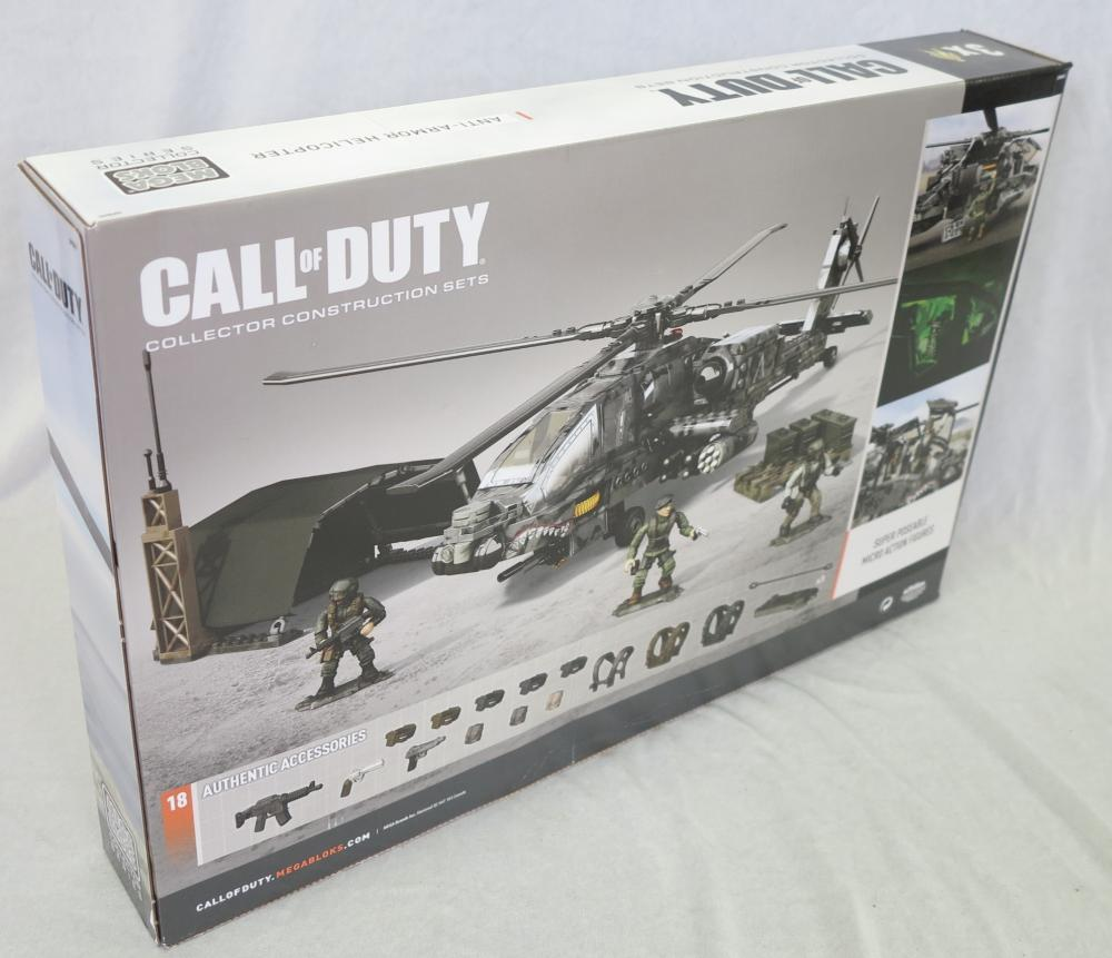 2 Call Of Duty Mega Bloks Collector Construction Set Anti Armor Helicopter Dpb60 Retired Set