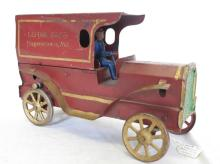 Lifetime Collection of Cast Iron, Pressed Steel, & Tin Litho Toys, Banks, & More