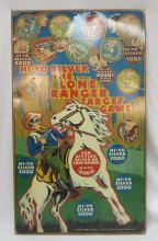 Hi-Yo Silver The Lone Ranger Target Game By Louis Marx & Co. 1938. Tin Target Board